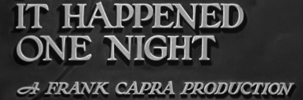 It Happened One Night - Itunes HD