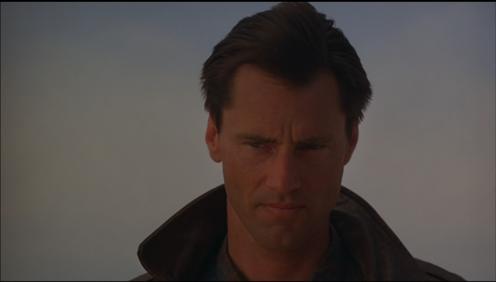 Sam Shepard as Chuck Yaeger.