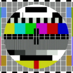 BBC Test Card G fed from my poorly aligned CLD-D925 into the TBS-185.