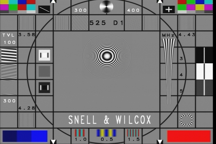 The SW2 test pattern.