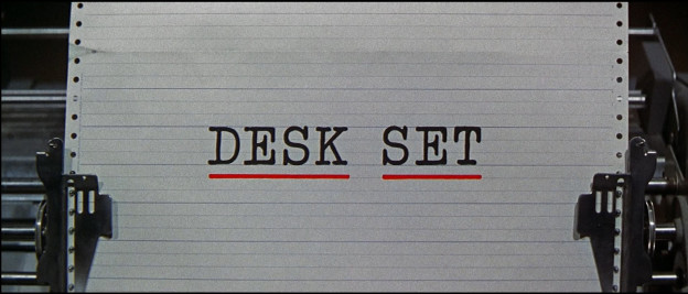 Desk Set movie title