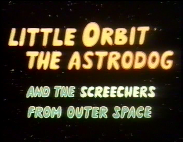 Little Orbit title card