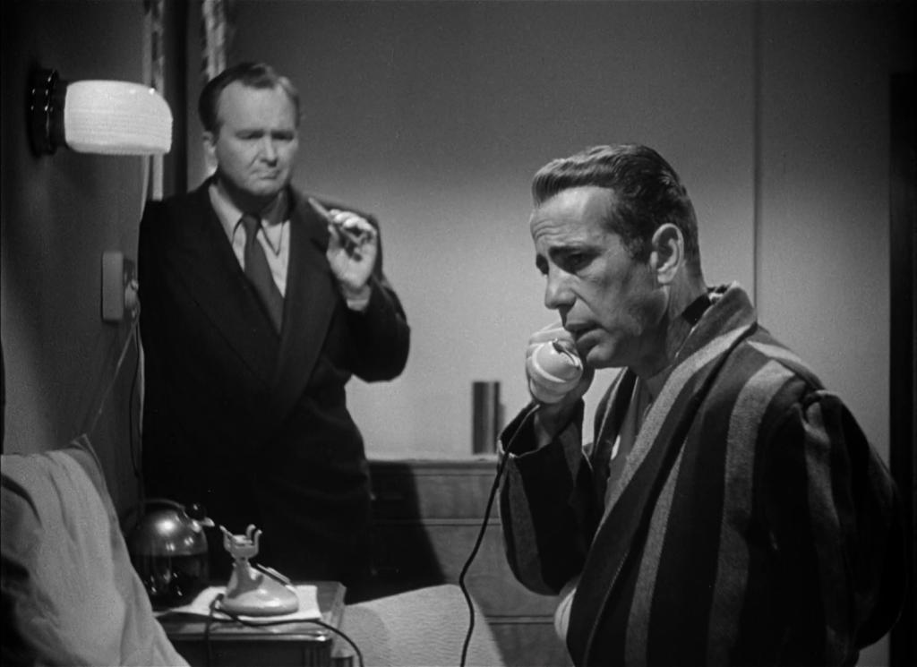 Bogart phones it in.